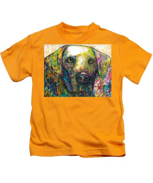 Daisy The Dog Kids T-Shirt