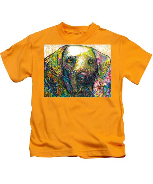 Daisy The Dog Kids T-Shirt