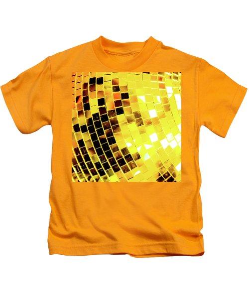 Disco Ball 3 Kids T-Shirt