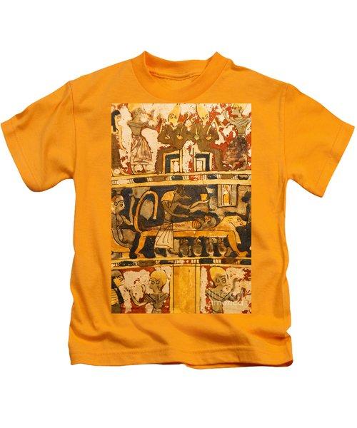 Egyptian Wall Art Kids T-Shirt