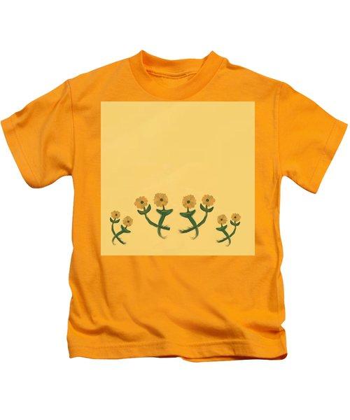 Eight In Bronze Kids T-Shirt