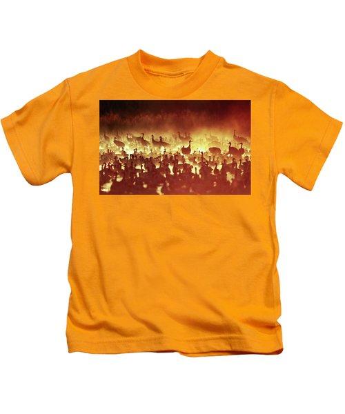 Fire Mist Sans Flight Kids T-Shirt