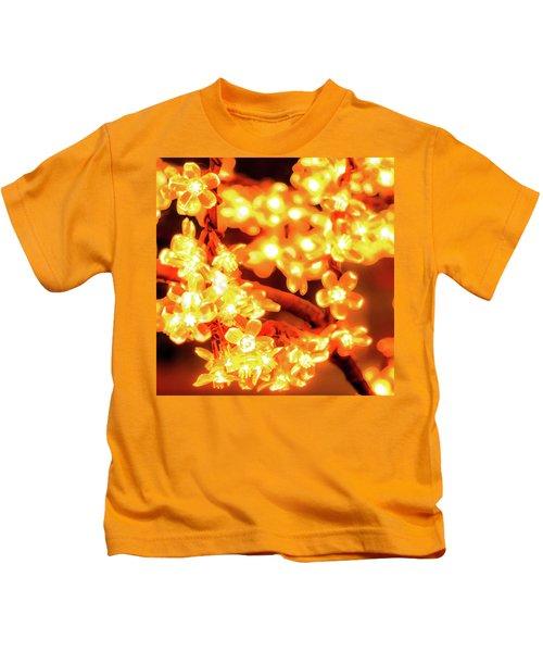 Flower Lights 5 Kids T-Shirt
