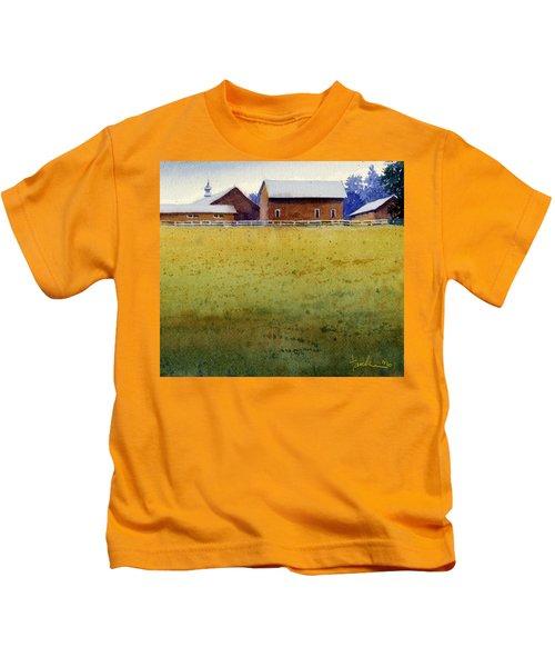 Garner Farm, Mineral Point, Wi Kids T-Shirt