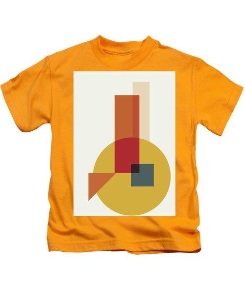 Geometric Painting 13 Kids T-Shirt