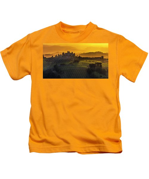 Golden Tuscany Kids T-Shirt