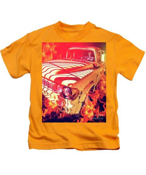 Hell Rider Kids T-Shirt