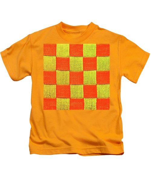 Interlaced Canvas Straps 1 Kids T-Shirt