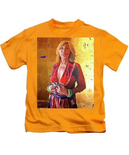 Jade Lady  Life On The Edge Kids T-Shirt