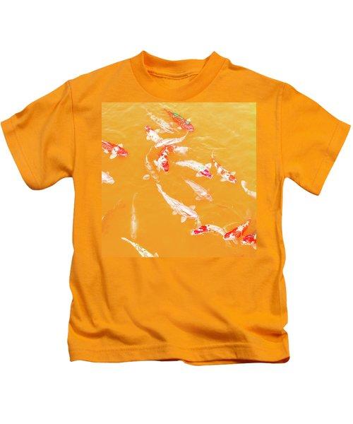 Koicarpscape 5 Kids T-Shirt