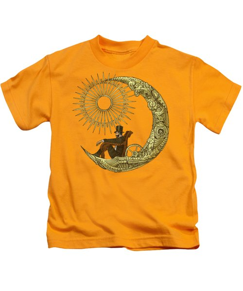 Moon Travel - Option Kids T-Shirt