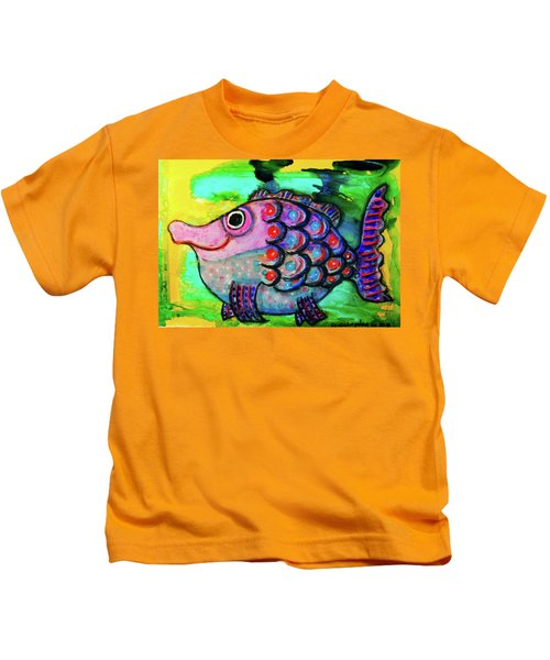 Oscar The Nosefish Kids T-Shirt