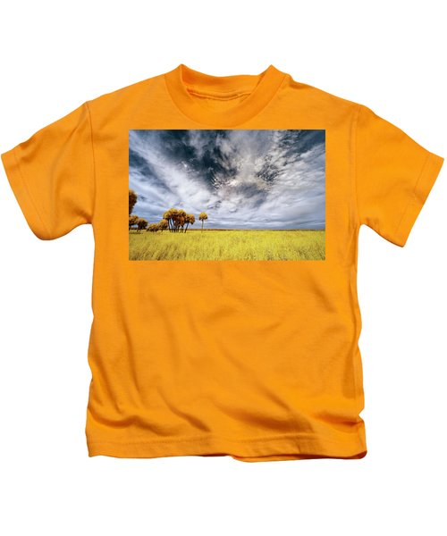 Palm Trees In Myakka Park Kids T-Shirt