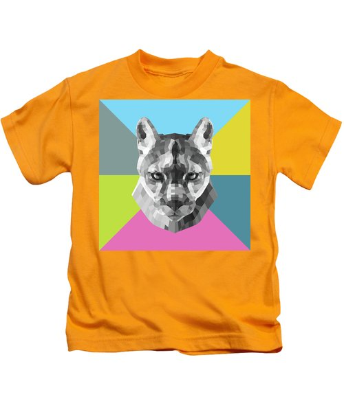 Party Mountain Lion Kids T-Shirt