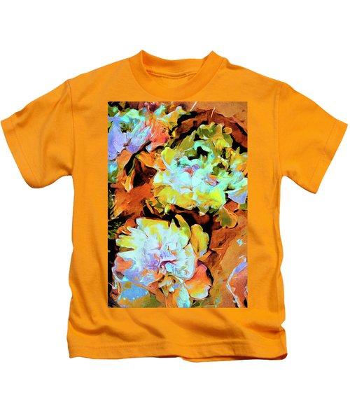 Peony Perspective Kids T-Shirt