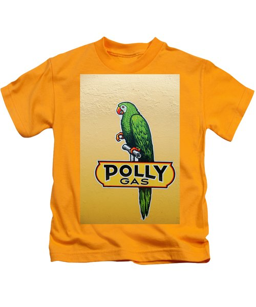 Polly Gas Kids T-Shirt