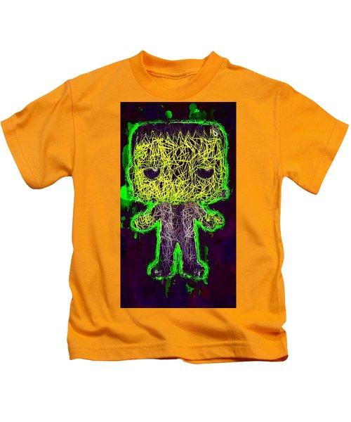 Frankenstein Pop 2 Kids T-Shirt