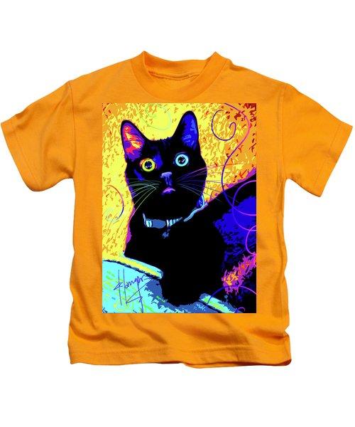 pOpCat Olive Kids T-Shirt