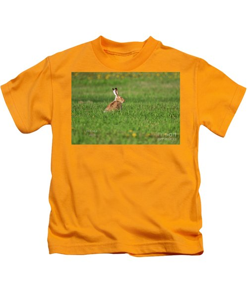 Rabbit Chews Kids T-Shirt