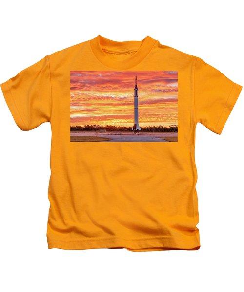 Redstone At Dawn Kids T-Shirt