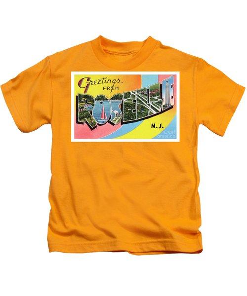 Roselle Greetings Kids T-Shirt