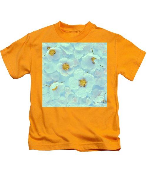 Rubus Parviflorus   Kids T-Shirt