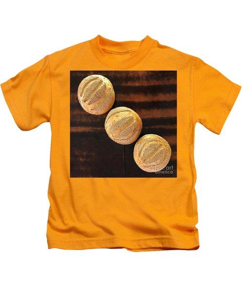 Sesame Seed Stripes 1 Kids T-Shirt