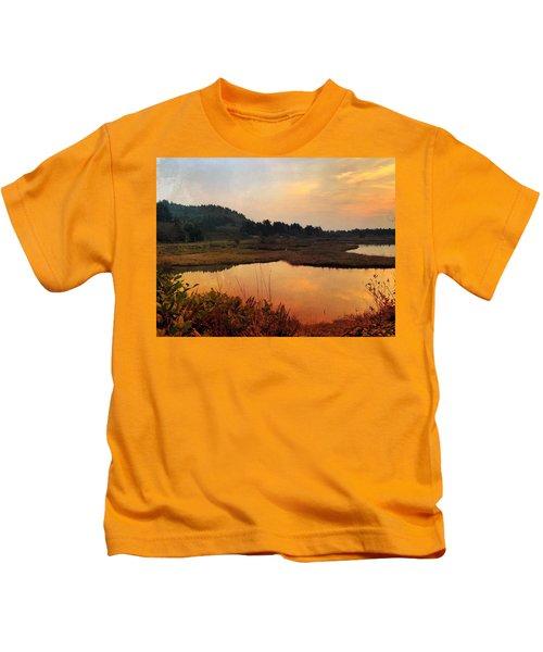 Sitka Sedge Sand Lake Eve Kids T-Shirt