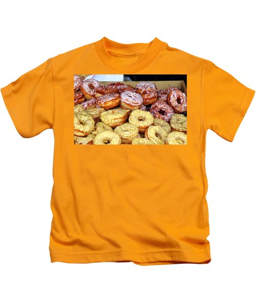 Sugar Frosted Donuts On Sale Kids T-Shirt