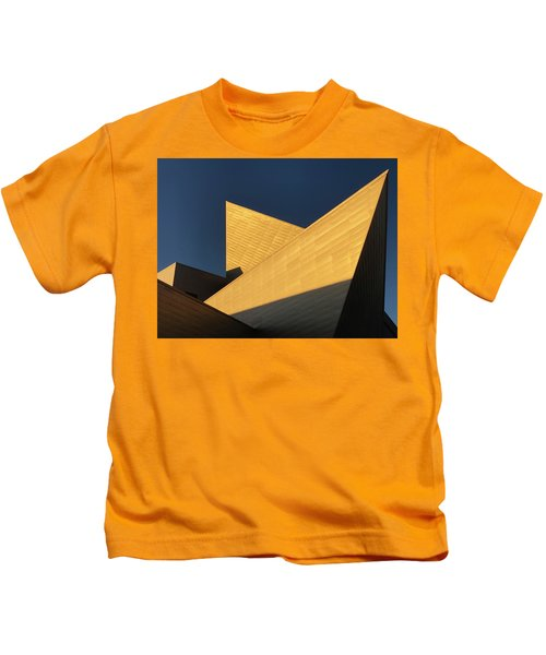 Sun Sets On Denver Art Museum 2 Kids T-Shirt