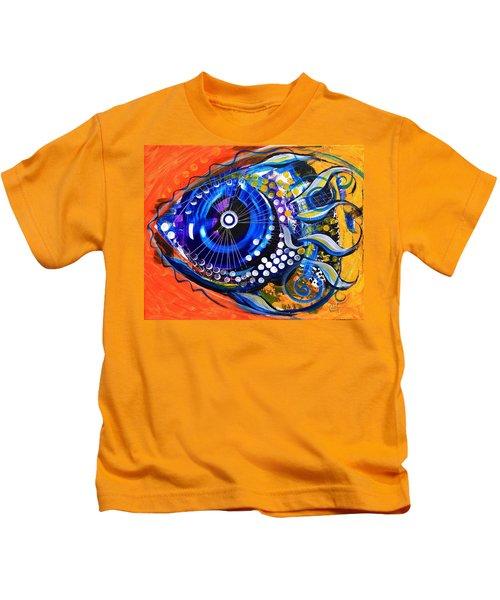 Tenured Acrimonious Fish Kids T-Shirt