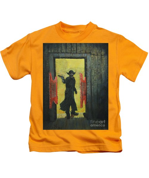 The Red Saloon Doors.....what Next Kids T-Shirt