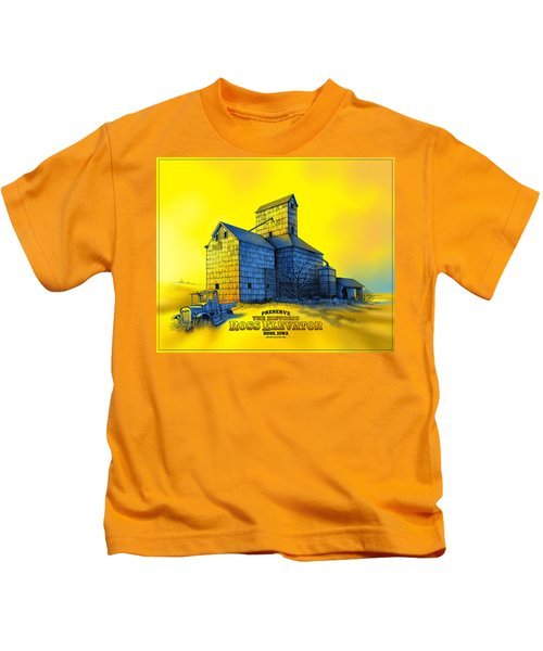 The Ross Elevator Version 4 Kids T-Shirt