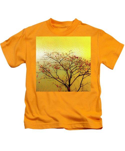 Tree And Water 2 Kids T-Shirt