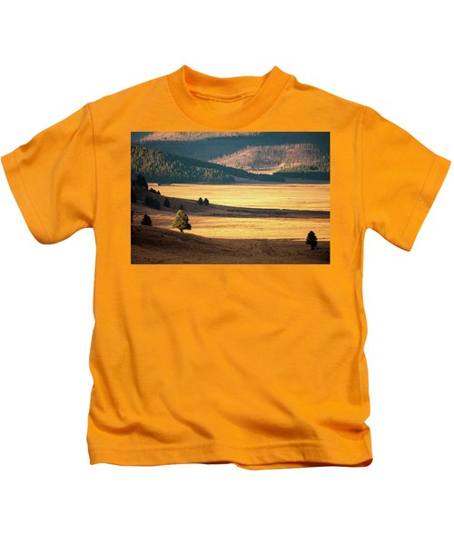 Valles Caldera Detail Kids T-Shirt