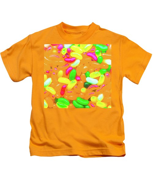Vibrant Jelly Beans Kids T-Shirt