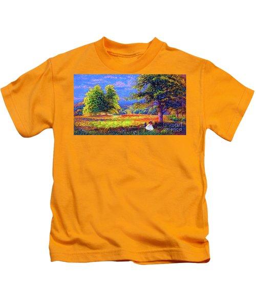 Flower Fields Kids T-Shirt