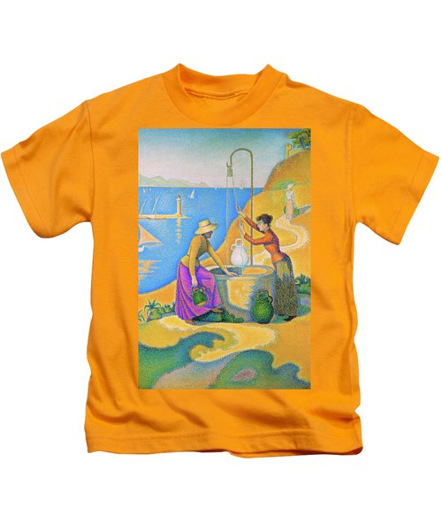 Women At The Well - Digital Remastered Edition Kids T-Shirt
