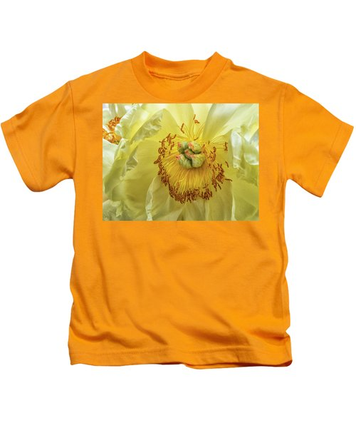 Yellow Light Kids T-Shirt