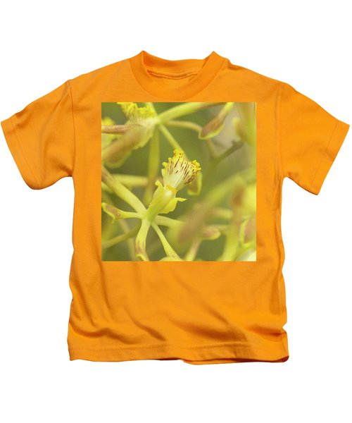 Yellow Orchid Kids T-Shirt