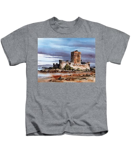 Doe Castle In Donegal Kids T-Shirt