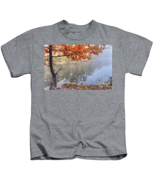 0132 Autumn At Starved Rock Kids T-Shirt