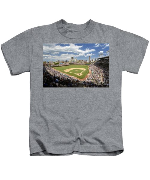 0415 Wrigley Field Chicago Kids T-Shirt