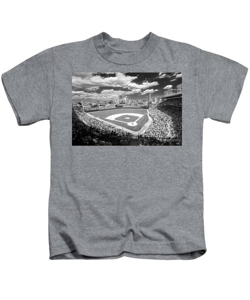 0416 Wrigley Field Chicago Kids T-Shirt