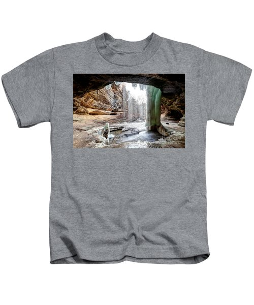 0938 Lasalle Falls - Starved Rock State Park Kids T-Shirt