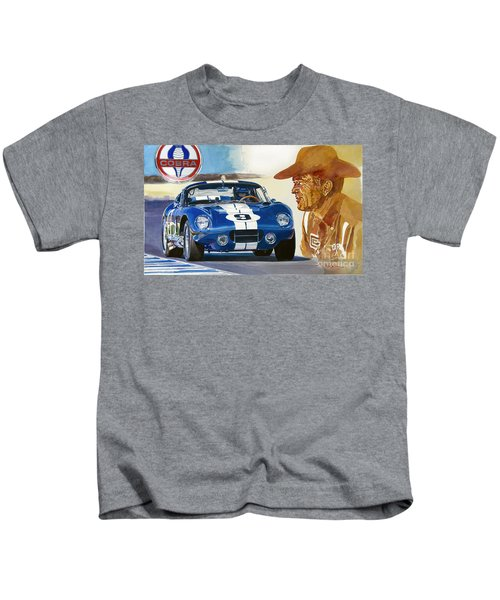 64 Cobra Daytona Coupe Kids T-Shirt
