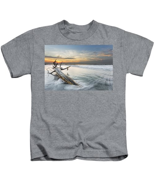 Bough In Ocean Kids T-Shirt