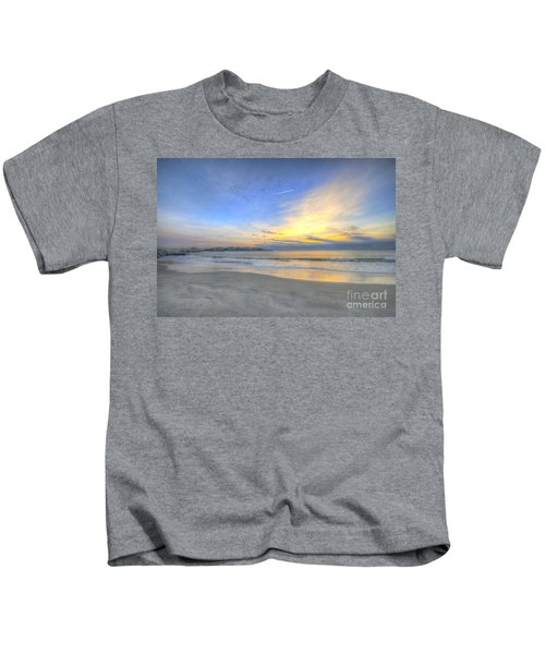 Breach Inlet Sunrise Kids T-Shirt