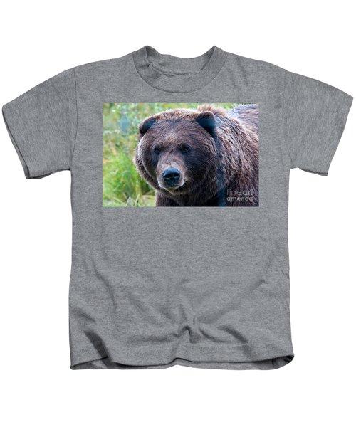 Brown Bear, Alaska Kids T-Shirt