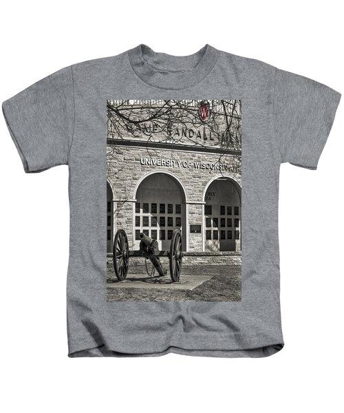 Camp Randall - Madison Kids T-Shirt